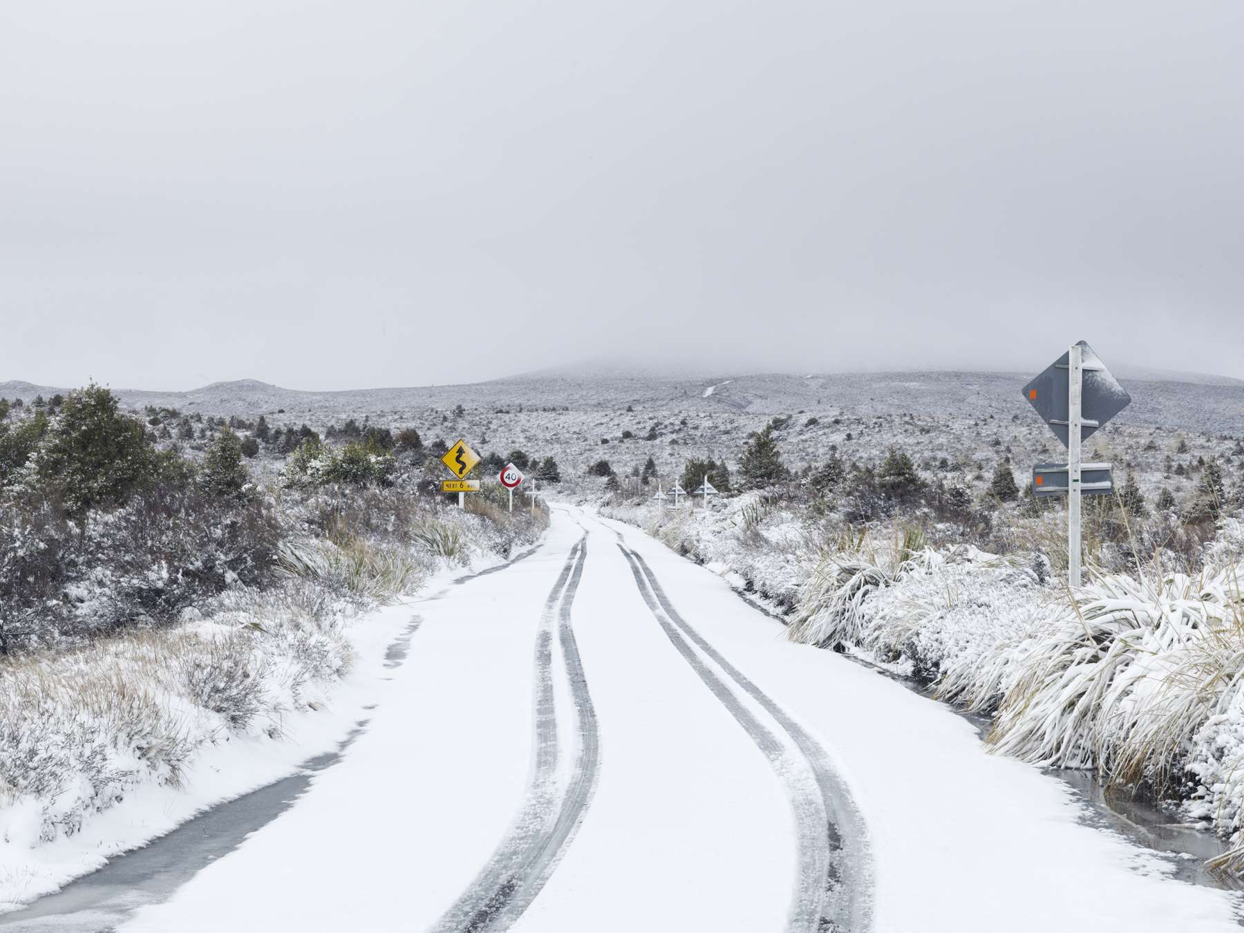 Ice Road, Central Plateau