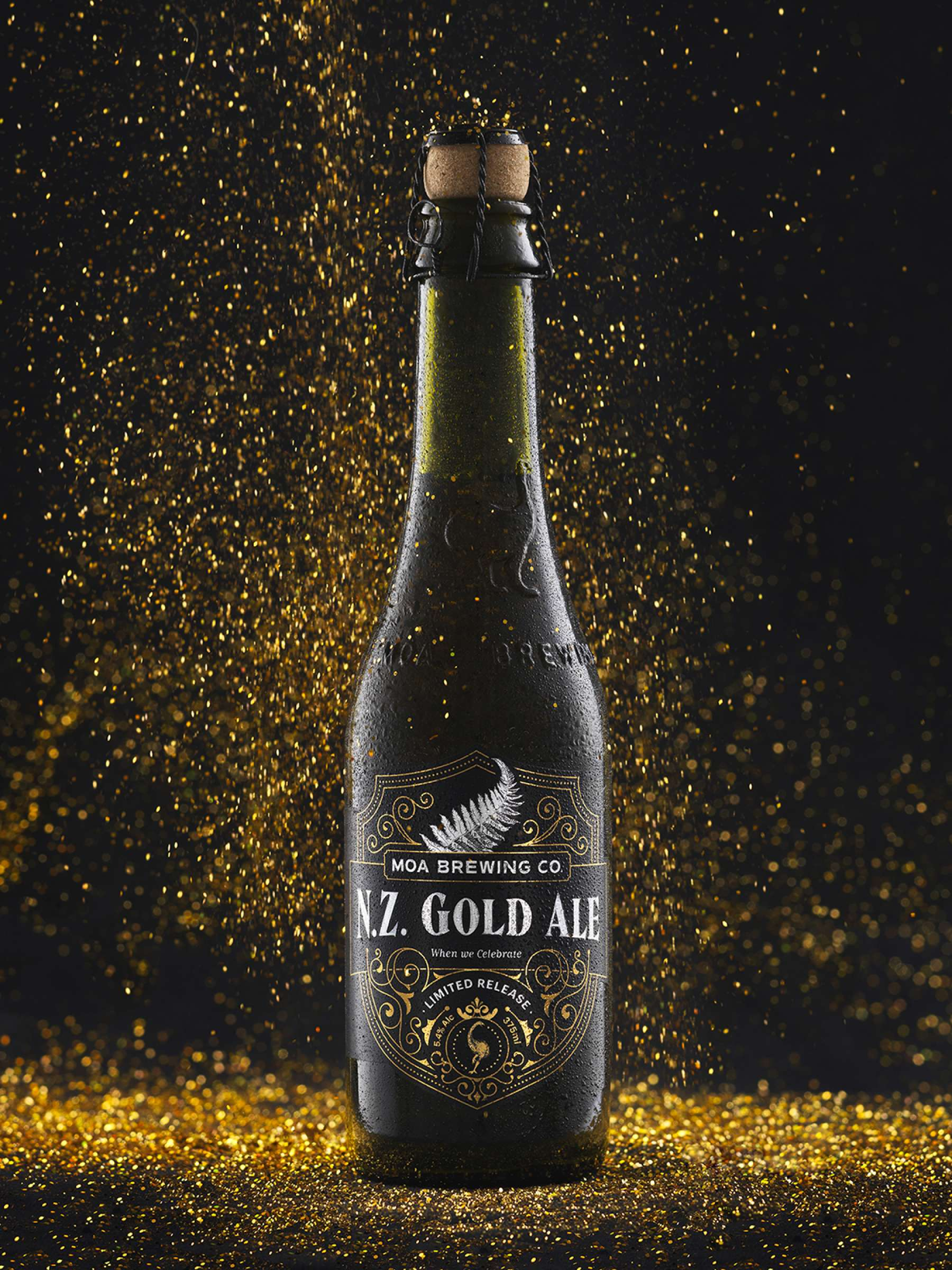 Moa Beer - NZ Gold Ale